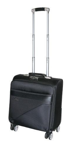 Maleta Portafolio De Viaje 16 Para Laptop Candado Ruedas.