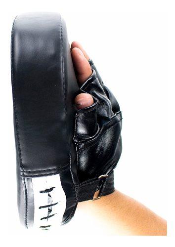 Manopla Cachagolpes Para Box Artes Marciales Negro D