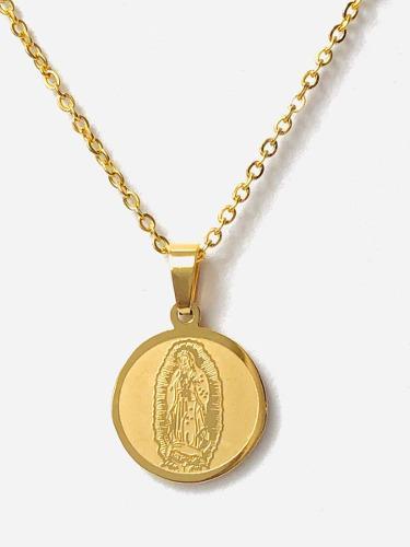 Medalla Y Cadena Virgen De Guadalupe El Regalo Perfecto!!
