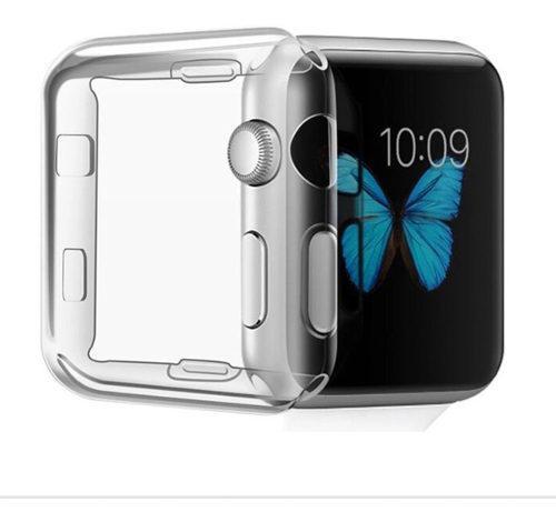 Protector Case Mica Para Apple Watch 38, 40, 42 Y 44 Mm
