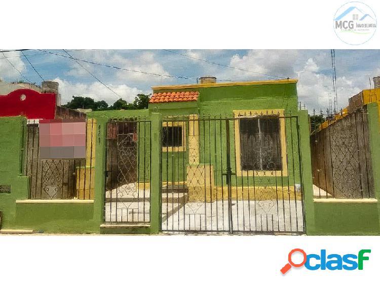 Venta de casa en Fco de Montejo de 2 recamaras Yuc
