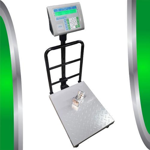 Bascula Digital 200 Kg Advance Rhino Plataforma Plegable