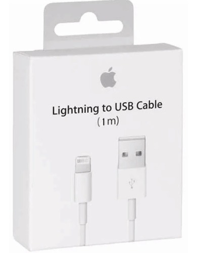 Cable Cargador Lightning Original  X Plus iPhone/iPad