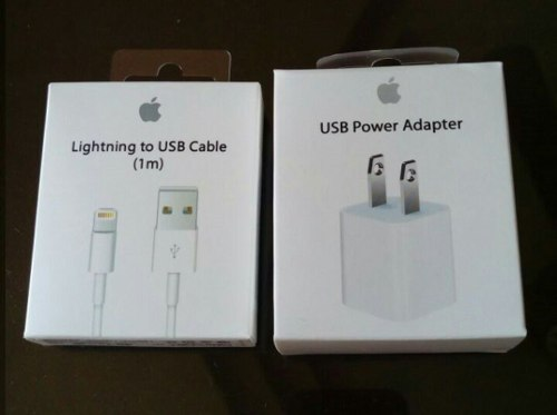 Cable + Cubo Cargador Apple Original iPhone  X iPod