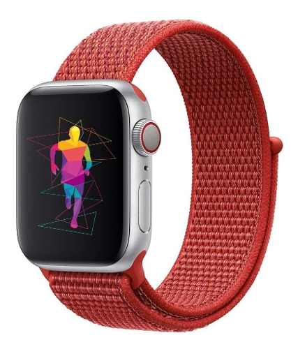 Correa Generica Nylon Sport Para Apple Watch mm mm