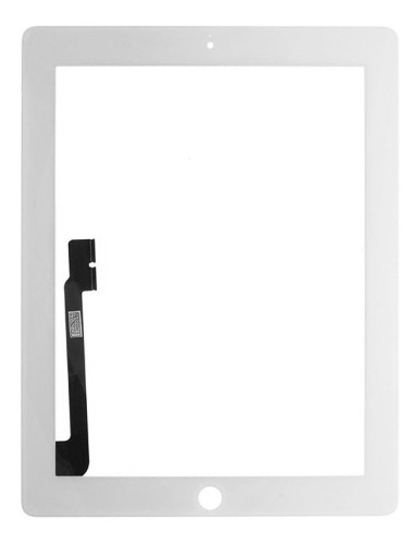 Cristal Digitalizador Touch iPad 3 4 + Adhesivo A A