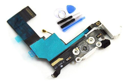 Flex Centro De Carga iPhone 5s Jack Audio Kit Microfono