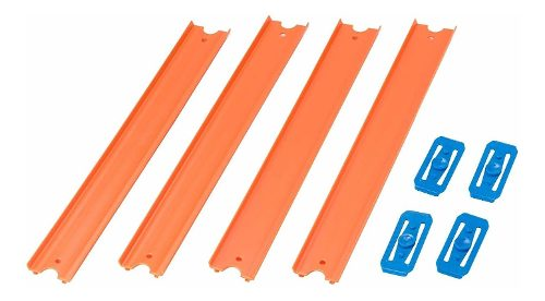 Hot Wheels Track Builder Pista Naranja Connect Hasta 120 Cm