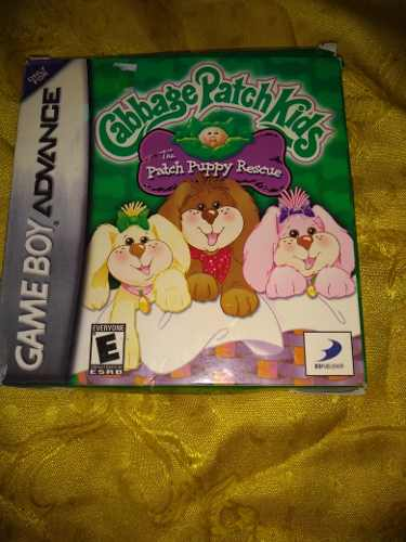 Juego Game Boy Advance Cabbage Patch Kids Puppy Rescue