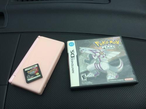 Nintendo Ds Lite Compatible Game Boy Advance + Pokemon Perla