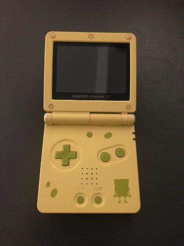 Nintendo Game Boy Advance. Edición Limitada De Bob Esponja