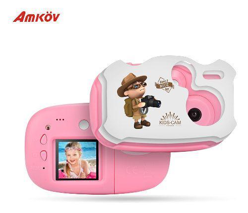Amkov Mini - Cámara De Vídeo Digital Para Niños