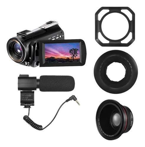 Andoer Ac3 4k Uhd 24mp Cámara De Video Digital Videocámara