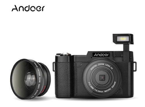 Andoer Cdr2 1080p Full Hd 15fps Cámara Digital 24mp