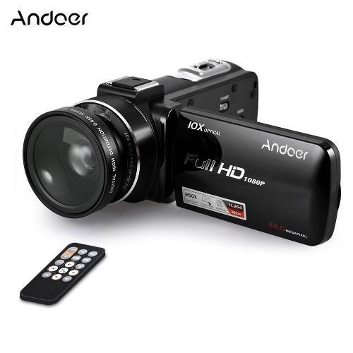 Andoer Hdv-z82 1080p Full Hd 24mp Cámara De Vídeo Digital