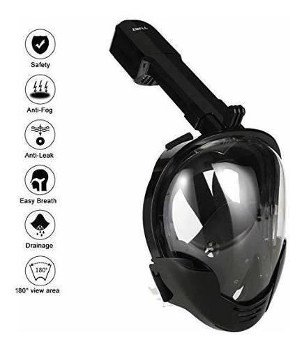 Awopee Máscara De Buceo,180 Grados De Vision Mascara De B
