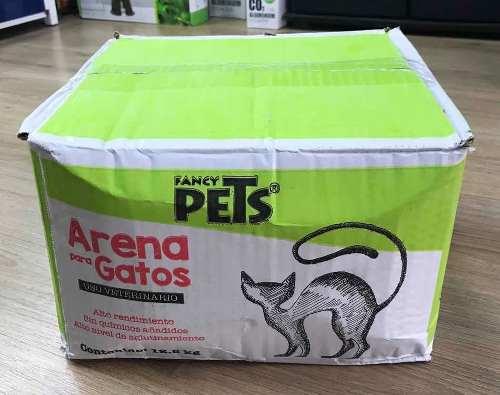 Caja De Arena Para Gato 12.5 Kg Fancy Pets