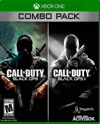 ..:: Call Of Duty Black Ops 1 & 2::.. Xbox 360/one Combo