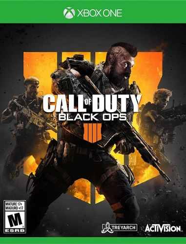 Call Of Duty Black Ops 4 Xbox One Nuevo Sellado Fisico