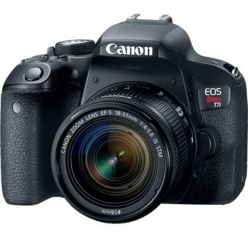Camara Canon Eos Rebel T7i Ef 18-135mm Is Stm
