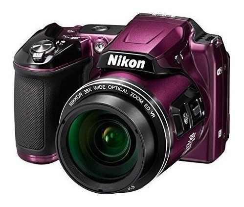 Camara Digital Nikon Coolpix L840 Purpura - Version Intern