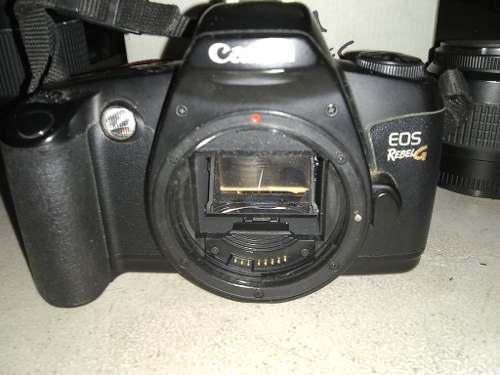 Camara Fotografica Canon Eos Rebel G Usada