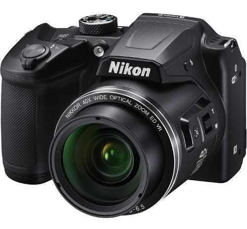 Camara Nikon Coolpix B500 Plum