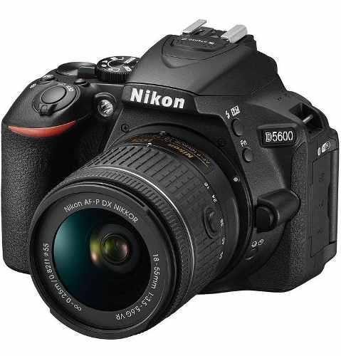 Camara Nikon D5600 Con Lente 18-55mm