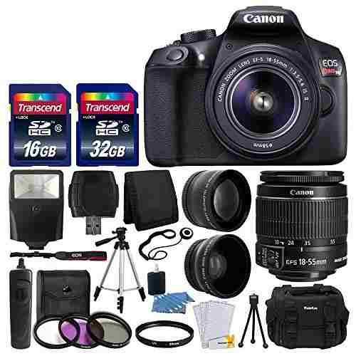Camara Reflex Digital Canon Eos Rebel T6 Con Lente Ef-s F
