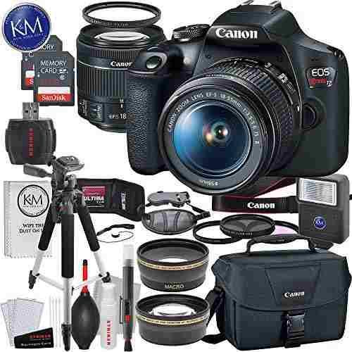 Camara Reflex Digital Canon Eos Rebel T6 Con Objetivo Ef-s L