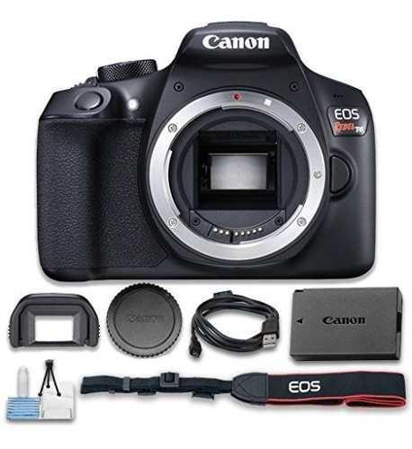 Camara Reflex Digital Canon Eos Rebel T6 Solo El Cuerpo Wi