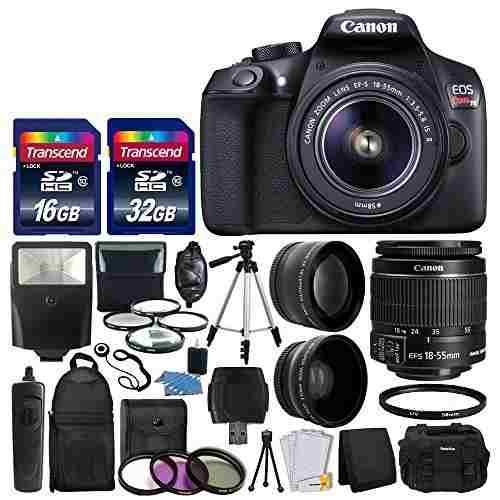 Camara Reflex Digital Canon Eos Rebel T6 Y 18-55 Mm Ef-s F