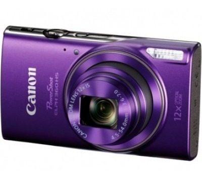 Canon 1081c001aa Camara Digital Elph 360 Morada Compacta 20.