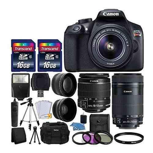 Canon Eos Rebel T6 Camara Digital Slr Canon 18-55mm Ef-s F
