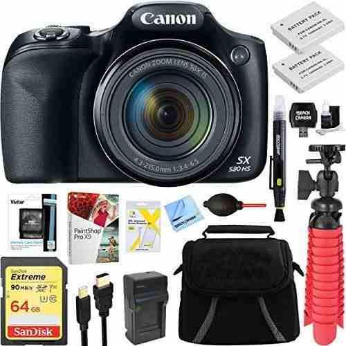 Canon Powershot Sx530 Hs 16.0 Mp 50x Camara Digital Con Zoom