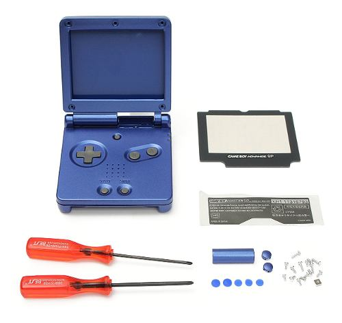 Carcasa De Repuesto Para Nintendo Game Boy Advance Sp Gba Sp