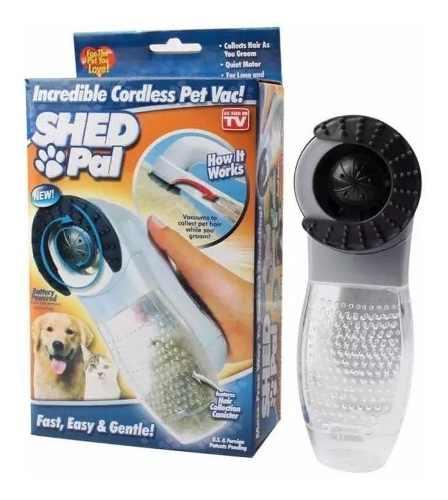 Cepillo Aspiradora De Pelo Para Mascotas Shed Pal Quita Mota