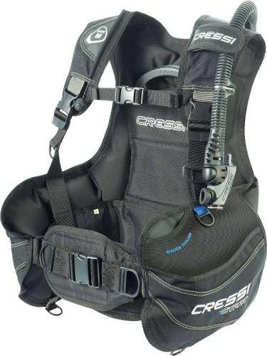 Chaleco Cressi Start Negro Para Buceo Bcd
