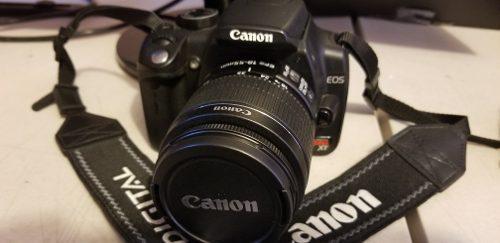 Cámara Canon Eos Rebel Xt Digital 18 55 Mm