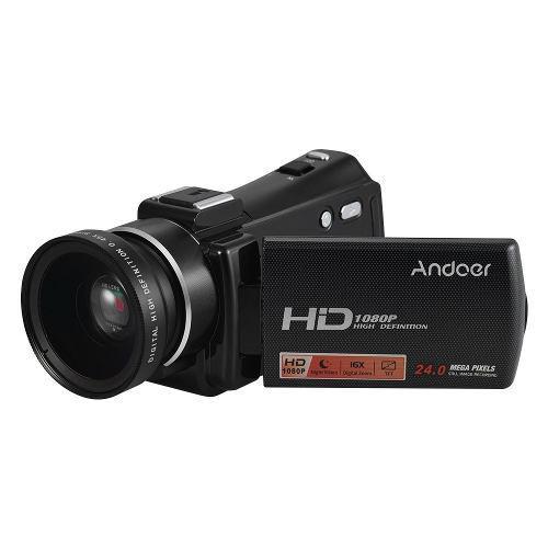 Cámara De Video Digital Portátil Andoer Hdv-v7 Plus
