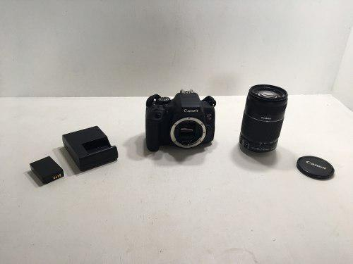 Cámara Digital Canon Eos Rebel T6i Kit De Lente 55-250 Mm