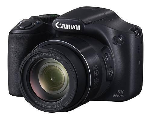 Cámara Digital Canon Powershot Sx530 50x Zoom Óptico