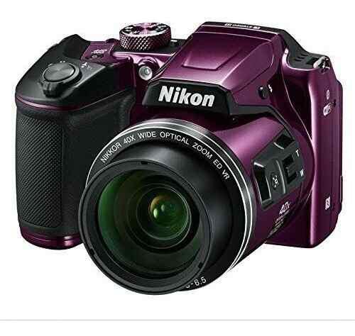 Cámara Digital Nikon Coolpix B500 Púrpura
