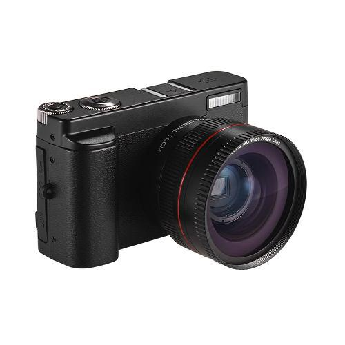 Cámara Digital Portátil Full Hd 1080p 24mp Dc Con Pantalla
