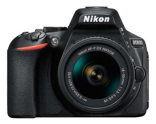 Cámara Dslr Nikon D5600 Con Af-p Dx 18-55mm F/3.5-5.6 Vr