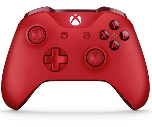 Control Xbox One Microsoft Inalambrico Rojo