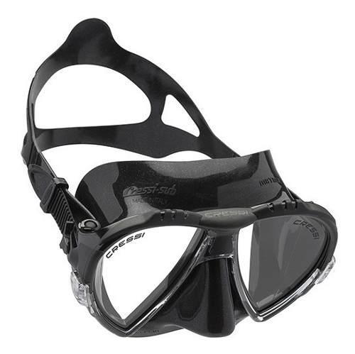Ds 302050 Máscara Para Buceo Matrix Dark Color Negro Cressi