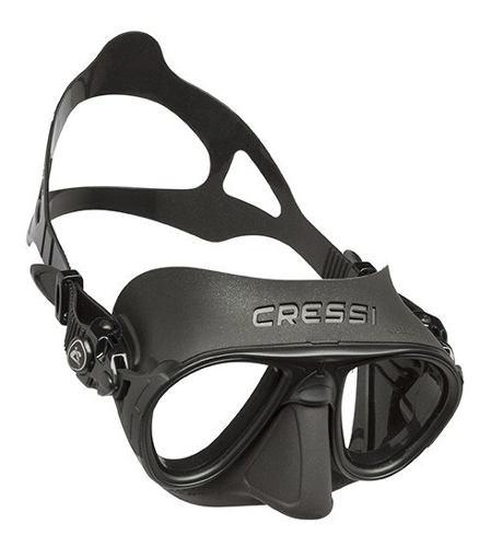 Ds425050 Máscara Para Apnea Calibro Negro Cressi