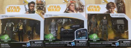 Figuras Star Wars Force Link Doble, Han Solo, Precio C/u