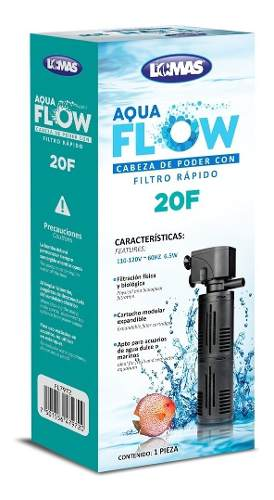 Filtro Interno Aqua-flow 20 Para Acuario De 250 L Oferta